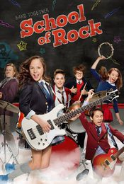 Cartel de Escuela de rock