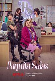 Cartel de Paquita Salas