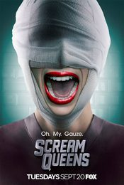 Cartel de Scream Queens