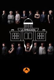 Cartel de La embajada