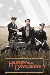 Cartel de Harley and the Davidsons
