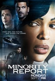 Cartel de Minority Report
