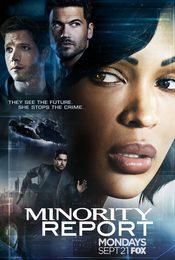 Cartel de Minority Report