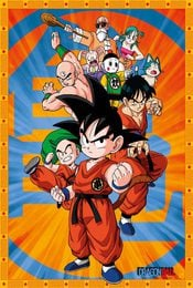 Cartel de Dragon Ball