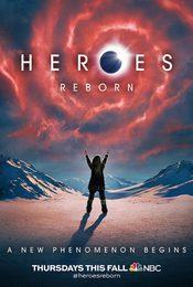 Cartel de Heroes Reborn