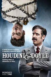Cartel de Houdini y Doyle