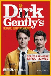 Cartel de Dirk Gently