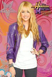 Cartel de Hannah Montana