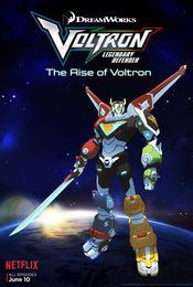 Cartel de Voltron: Legendary defender