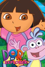 Cartel de Dora, la exploradora
