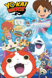 Cartel de Yo-Kai Watch
