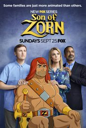Cartel de Son of Zorn