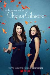 Cartel de Las cuatro estaciones de las chicas Gilmore
