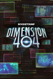 Cartel de Dimension 404