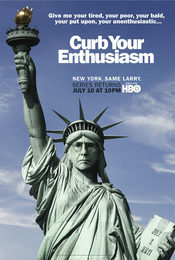 Cartel de Larry David: Curb Your Enthusiasm