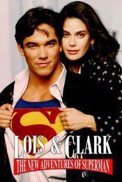 Cartel de Lois y Clark: Las nuevas aventuras de Superman