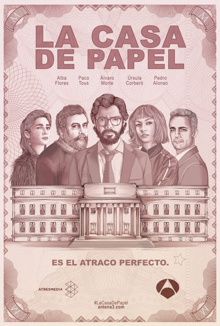 Video dailymotion la casa de papel pretty girls - La tele en casa ...