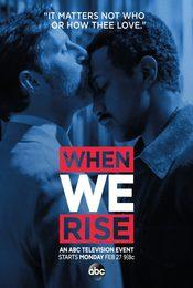 Cartel de When We Rise