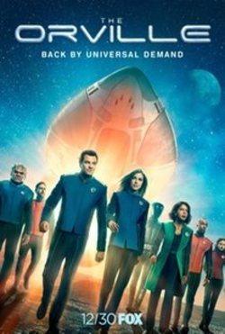 Capítulo 2x13 The Orville Temporada 2 Mañana, y mañana, y ...