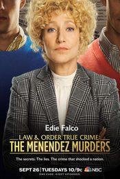 Cartel de Ley y orden True Crime: El caso Menéndez