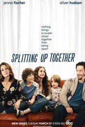Cartel de Splitting Up Together