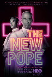 Cartel de The New Pope