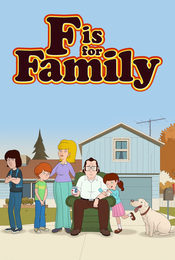 Cartel de F Is for Family