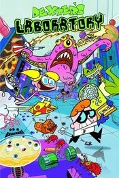 Cartel de El laboratorio de Dexter