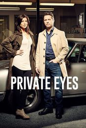 Cartel de Private Eyes