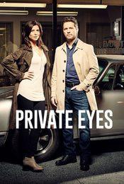 Cartel de Private Eyes