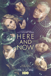 Cartel de Here and Now