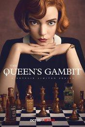 Cartel de Gambito de dama