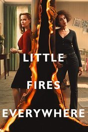 Cartel de Little Fires Everywhere