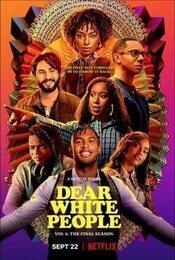 Cartel de Queridos blancos