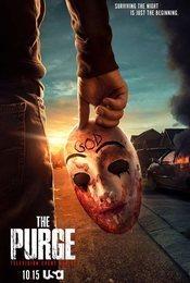 Cartel de The Purge