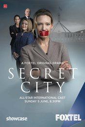 Cartel de La ciudad secreta