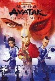 Cartel de Avatar: La leyenda de Aang