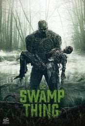 Cartel de Swamp Thing (La cosa del pantano)