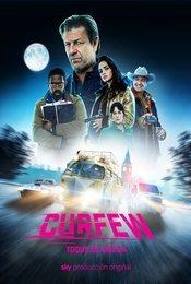 Cartel de Curfew (Toque de queda)