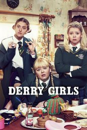 Cartel de Derry Girls
