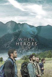 Cartel de Cuando los héroes vuelan