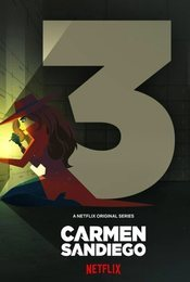 Cartel de Carmen Sandiego