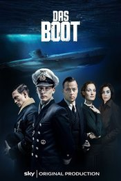 Cartel de Das Boot (El submarino)