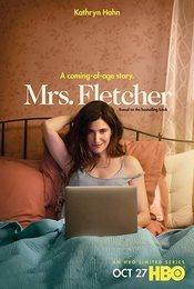 Cartel de La señora Fletcher