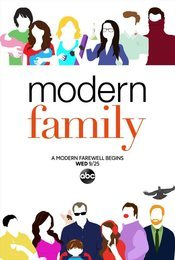 Cartel de Modern Family