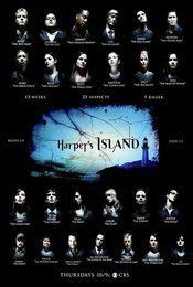 Cartel de Harper's Island
