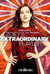 Cartel de La extraordinaria playlist de Zoey