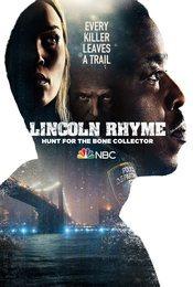 Cartel de Lincoln Rhyme: Cazando al coleccionista de huesos