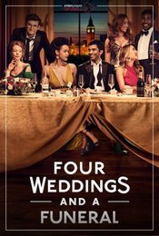 Cartel de Cuatro bodas y un funeral