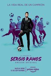 Cartel de El corazón de Sergio Ramos